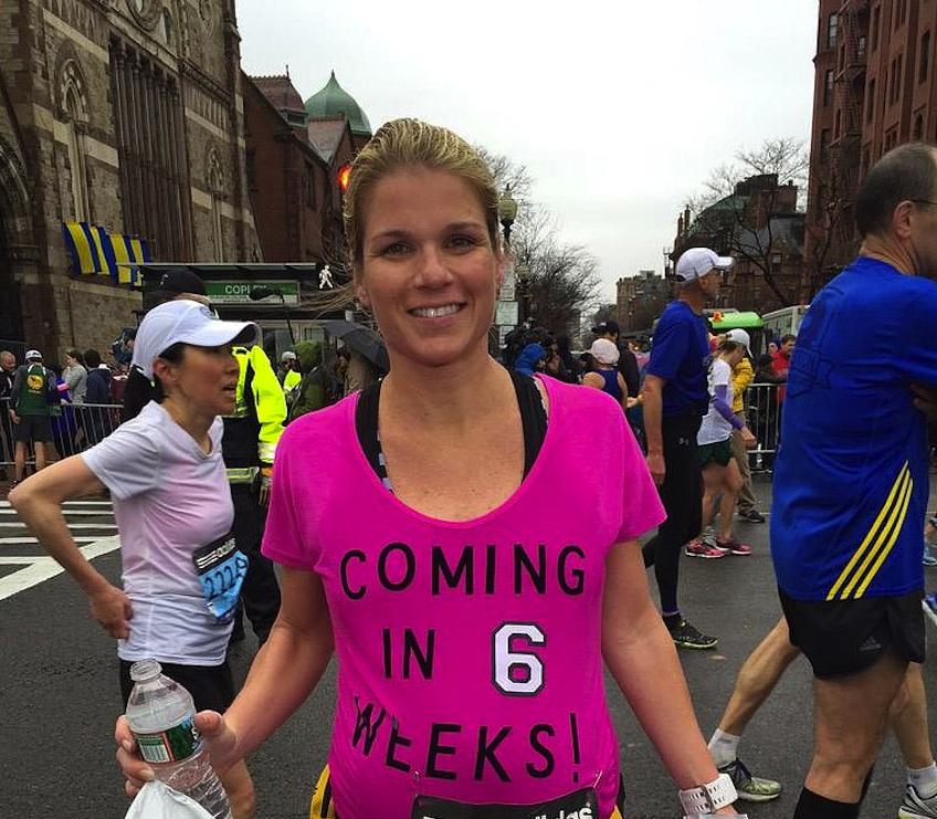 correr maraton embarazada