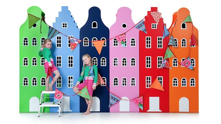 armarios infantiles colores guirnaldas