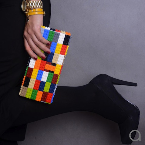 bolso lego bloques colores