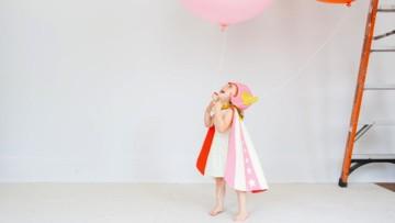 Preciosos disfraces infantiles de superhéroes hechos a mano