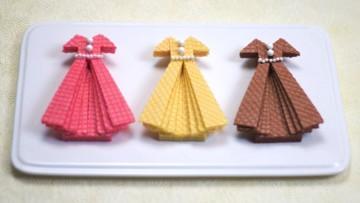 Galletas con forma de vestido fáciles de hacer