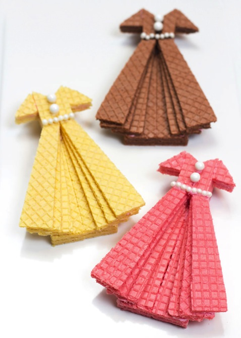 galletas vestidos diy