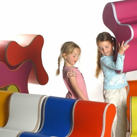 sillas infantiles colores niñas