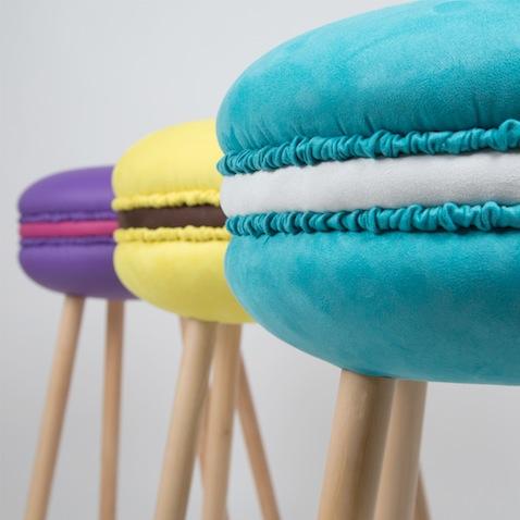 taburetes originales decoracion infantil modelo macarons