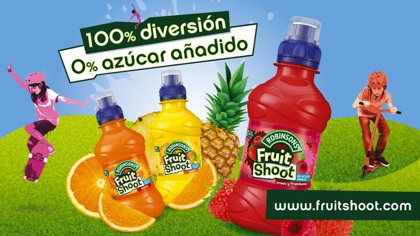 zumo de frutas sin azucar fruit shoot