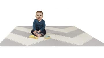 Alfombra infantil para bebés Playspot Zigzag de SkipHop