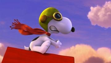 Decoración infantil para una fiesta de cumpleaños de Carlitos y Snoopy