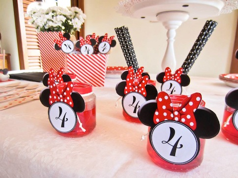 fiesta minnie decoracion mesa