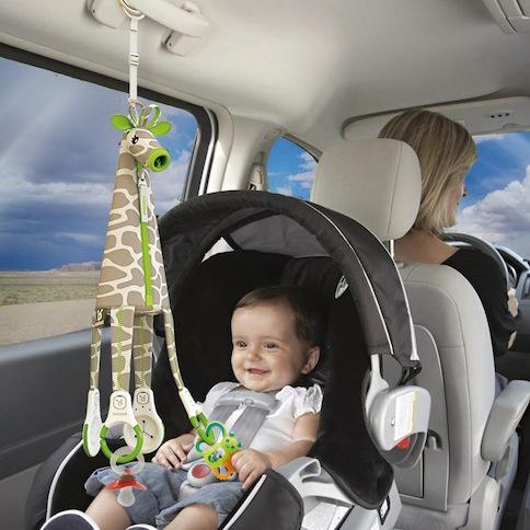 juguete bebe coche giraffe car