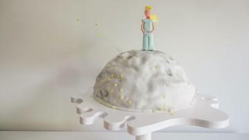 "Original tarta de ""El Principito"" para un cumpleaños infantil"