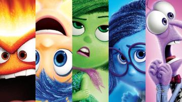 10 lecciones sobre las emociones de la película Del Revés Disney Pixar