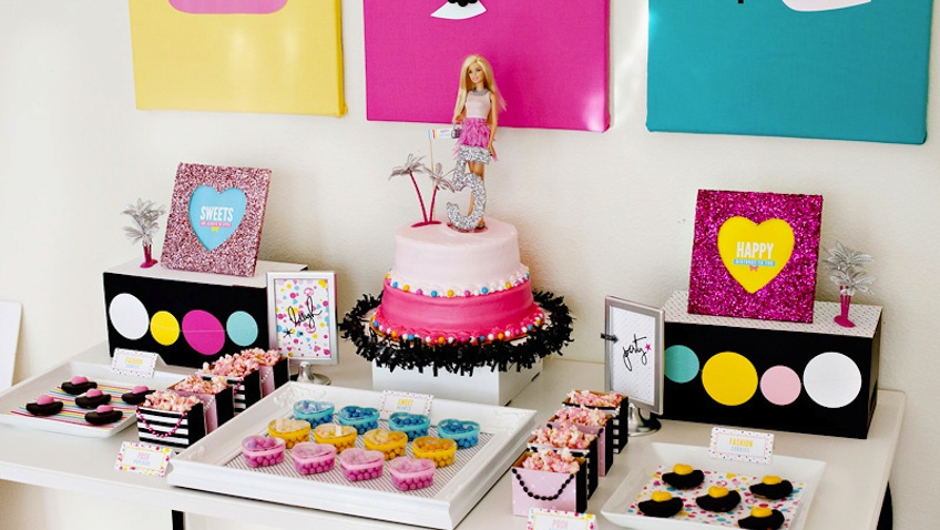 decoracion fiesta barbie ideas
