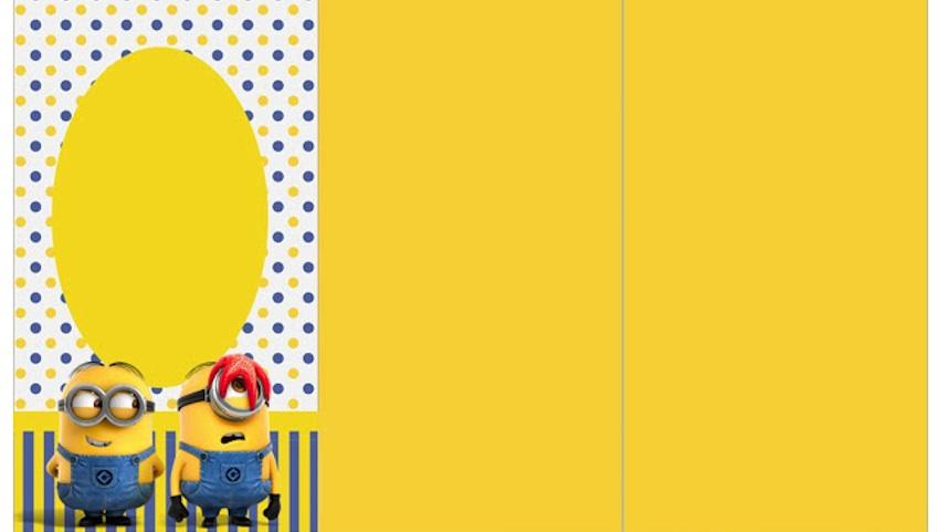 Invitación Para Fiesta De Minions Imprimir Gratis