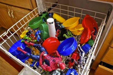 limpiar juguetes