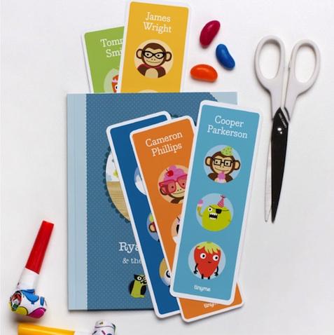 Marca páginas infantil personalizado para imprimir