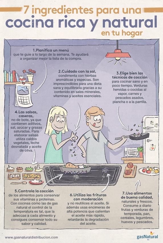 cocina rica y natural en tu hogar