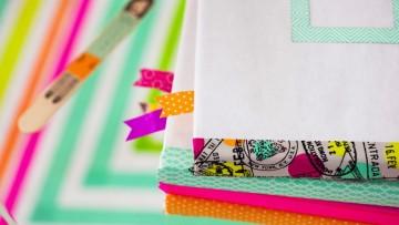 Forrar libros y decorarlos con washi tape para la vuelta al cole