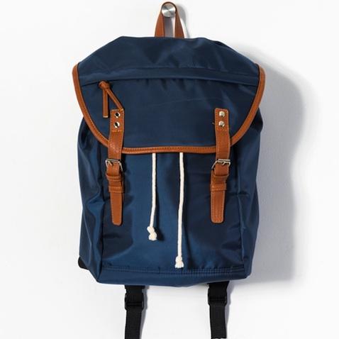 mochila escolar azul marino