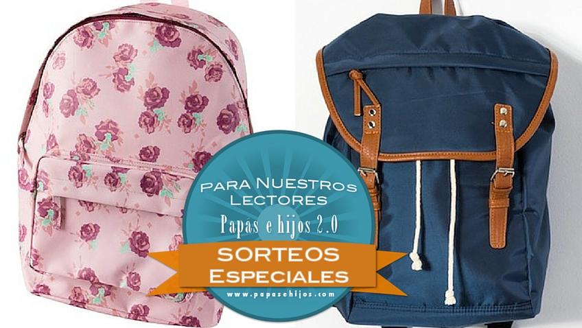 mochilas escolares niños