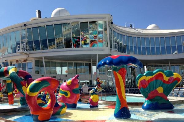 royal caribbean piscina infantil