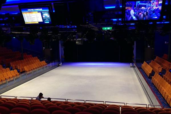 royal caribbean pista de patinaje sobre hielo