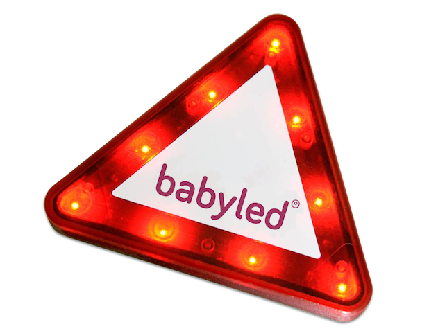BabyLed Triangulo bebe a bordo