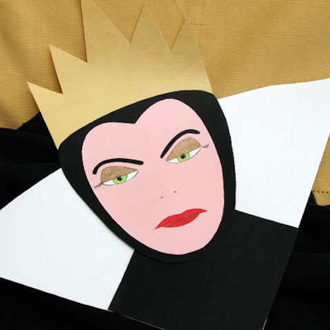 bruja blancanieve mascara