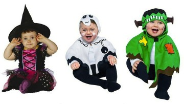 8 disfraces de Halloween para bebés que te encantarán