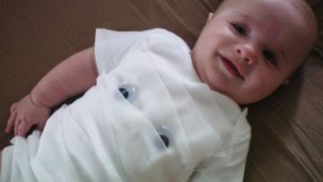 Disfraz para bebé casero de Halloween