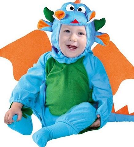 Disfraz de dragón para bebés