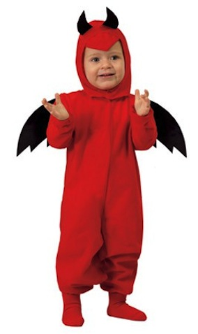 Disfraz de Diablo Alas para bebé