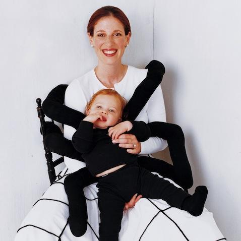 Disfraz halloween bebé y mamá Martha Stewart