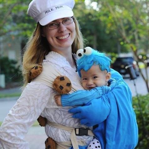 disfraz halloween bebe monstruo de las galletas