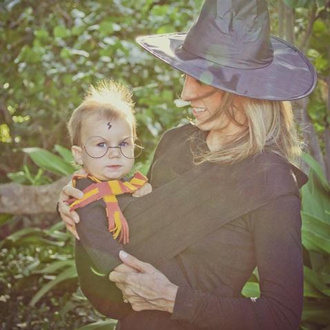 Disfraz halloween madre e hijo