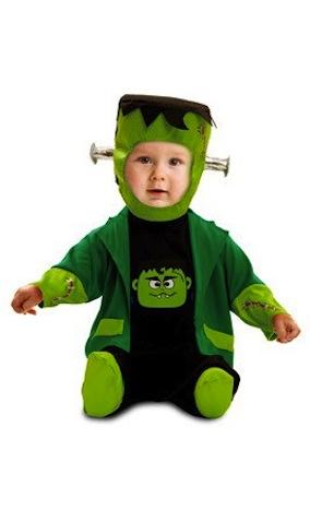 disfraz halloween de franky bebe