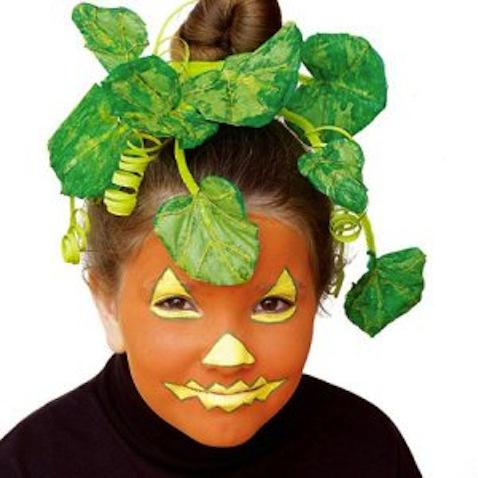 Disfraz infantil casero de calabaza
