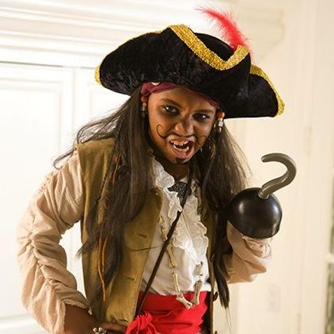 disfraz infantil casero pirata maquillaje
