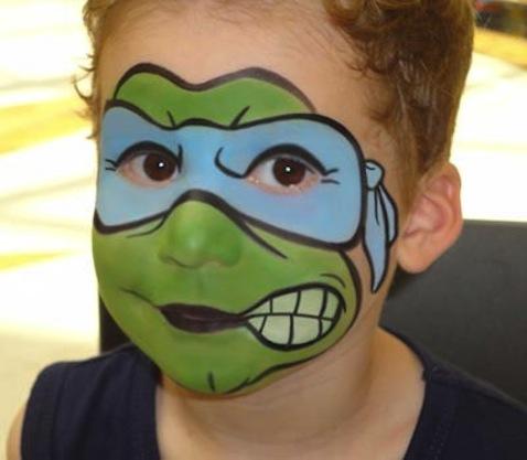 Disfraz infantil casero de Tortugas Ninja
