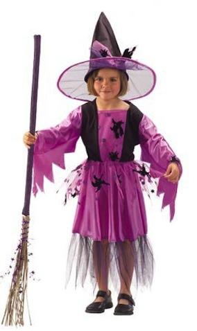 Disfraz infantil para halloween brujita