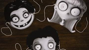Haz un disfraz casero de Frankenweenie con estas máscaras
