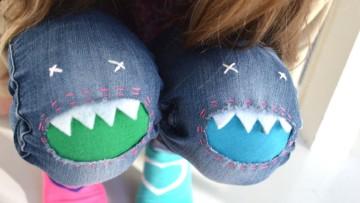 Cómo hacer parches de monstruos para pantalones infantiles