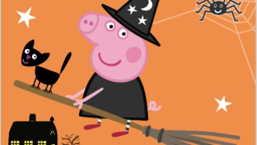 peppa pig halloween clan