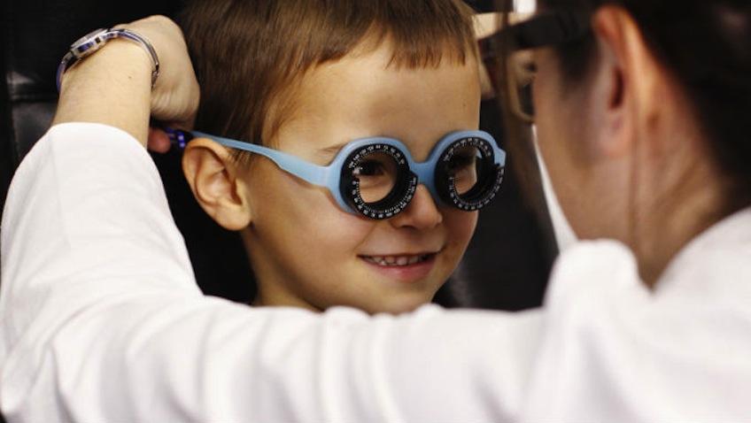 revision ocular infantil