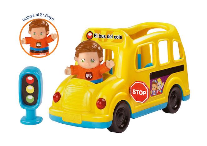El bus del cole Tut Tut amigos VTECH