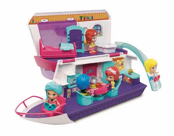 Casa y yate de las muñecas Flipsies Vtech
