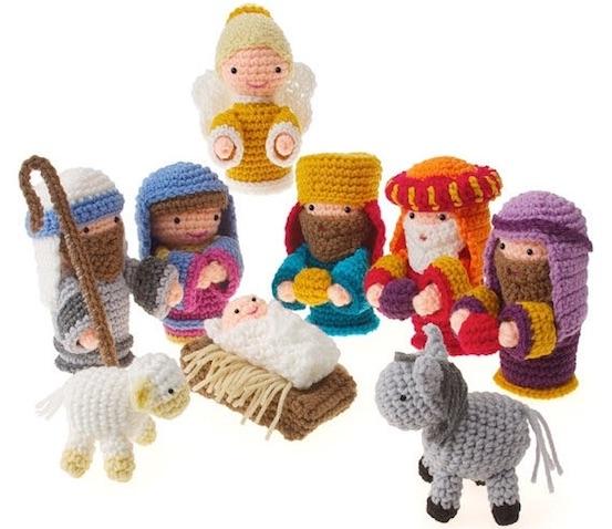Belén infantil ganchillo navidad crochet