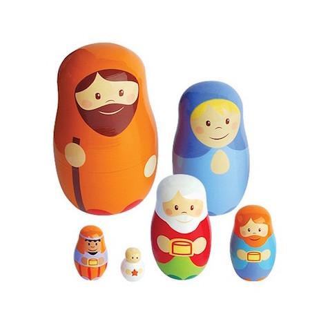 Belén juguete Matrioshka