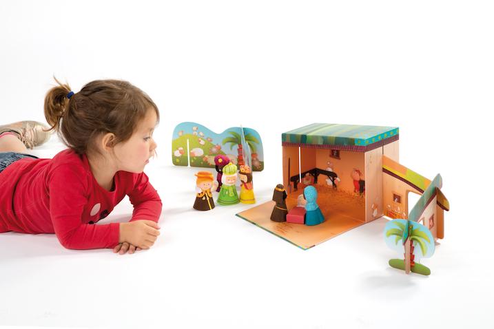 Belén de juguete Lilliputiens