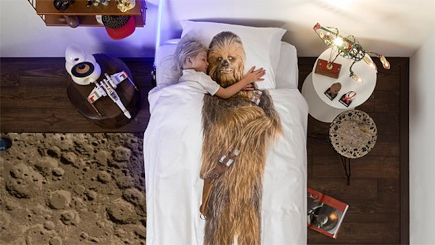 habitacion star wars chewbacca