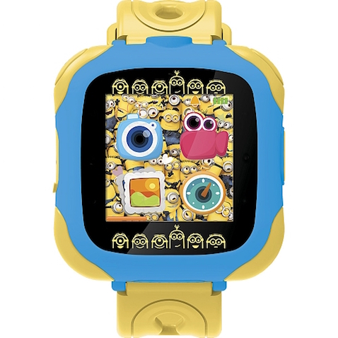 Reloj-Cámara Minions Lexibook